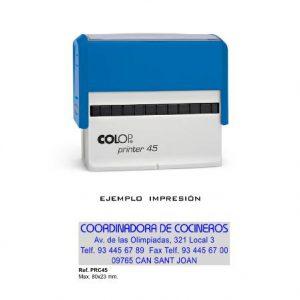 Sello de goma Colop Printer C45