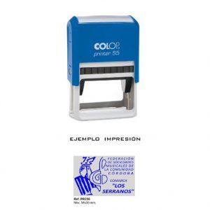 Sello de goma Colop Printer C55
