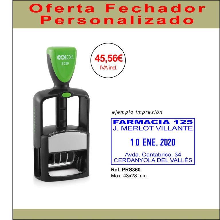 Oferta Fechador Colop 360