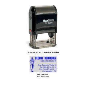 Sello de goma barato MaxStamp PRM 3050