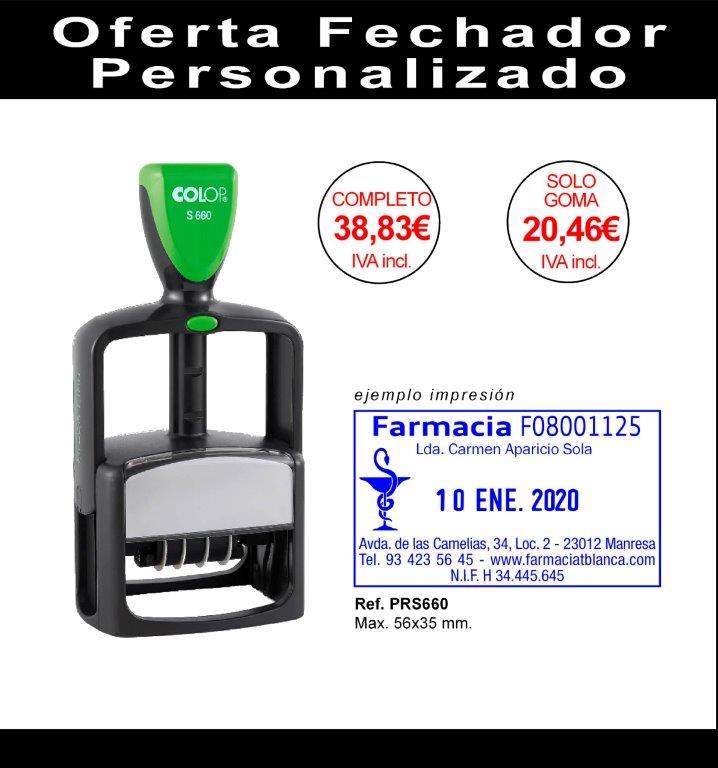Oferta Fechador Colop 660